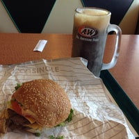 Photo taken at A&W All American Food by Richard P. on 5/3/2014