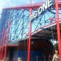 Photo taken at Blackpool Pleasure Beach by James W. on 6/18/2013
