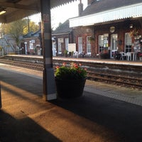 Photo taken at Wymondham Railway Station (WMD) by Little Scrapes on 11/4/2014
