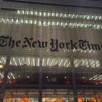 Photo taken at New York Times Building by Neçirvan A. on 1/28/2015