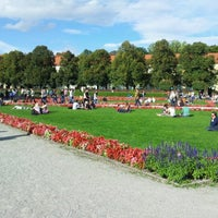 Photo taken at Hofgarten by Rodrigo R. on 10/3/2012