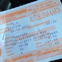 Photo taken at Autobuska stanica by Huseyin O. on 12/8/2013
