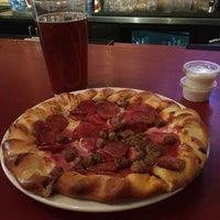 Photo taken at Blind Onion Pizza & Pub by ablackonamac M. on 5/11/2014