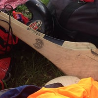 Photo taken at MHC Hurling Pitch by Gwenn B. on 6/1/2014