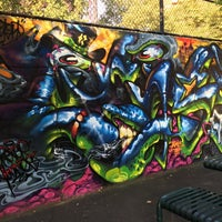 Photo taken at Graffiti Hall Of Fame by Angel C. on 8/24/2015