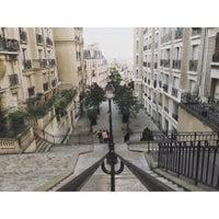 Photo taken at Rue Ramey by Basile V. on 7/31/2015