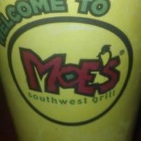 Photo taken at Moe's by Mark W. on 10/7/2013