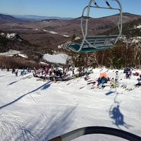 Photo taken at Cannon Mountain Ski Area by John L. on 3/9/2013