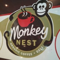Photo taken at Monkey Nest Coffee by Robert C. on 8/23/2013