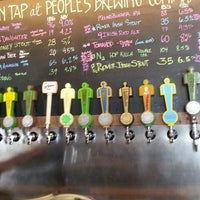 Photo taken at People's Brewing Company by Es C. on 6/2/2016