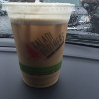 Photo taken at Kaladi Brothers Coffee - Tudor by Patricia H. on 5/21/2016