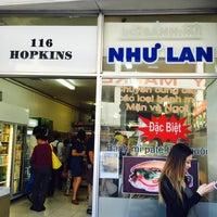 Photo taken at Nhu Lan Bakery by George W. on 3/31/2016
