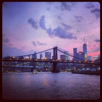 Photo taken at East River by Mottel L. on 6/27/2013
