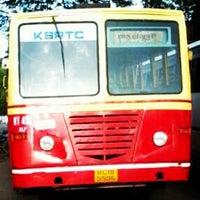 Photo taken at KSRTC  Bus Station,Alappuzha by Jayakrishnan M. on 6/18/2013