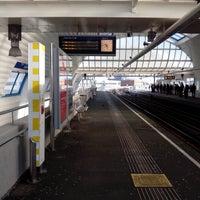 Photo taken at Metrostation Spijkenisse Centrum by Peter G. on 3/14/2013