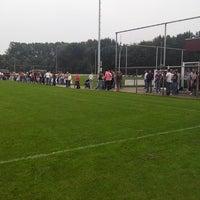 Photo taken at Rijnmond Hoogvliet Sport by Peter G. on 8/24/2013