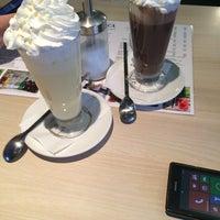 Photo taken at Marica Café-Bar & Restaurant by Ádám H. on 11/13/2014