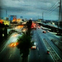 Photo taken at Marcos Highway by Edel G. on 10/1/2012