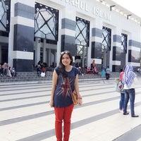 Photo taken at Masjid Agung Syi'arul Islam by Karra K. on 7/29/2014