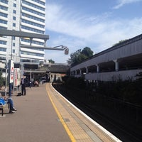Photo taken at Gunnersbury London Underground and London Overground Station by Heleny Campoy -. on 8/21/2013