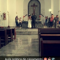 Photo taken at Paroquia Santo Cura D'Ars by Stephanie Malta #. on 8/30/2014