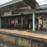 Photo taken at Yōkaichiba Station by Kaname T. on 6/19/2016