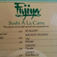 Photo taken at Fujiya Japanese Restaurant by Jacx B. on 7/27/2014