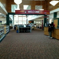 Photo taken at KCLS Shoreline Library by Brenda S. on 10/5/2016