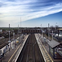 Photo taken at St Neots Railway Station (SNO) by Documentally on 2/27/2014