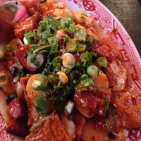 Photo taken at Mission Chinese Food by Amy C. on 10/25/2012