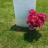 Photo taken at Jacksonville National Cemetery by Nina A. on 6/22/2014