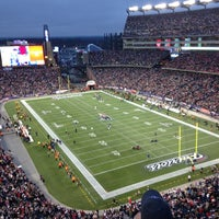 Photo taken at Gillette Stadium by Paul B. on 1/13/2013