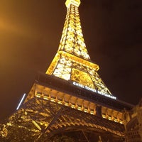 Photo taken at Eiffel Tower by Lydia C. on 11/17/2012