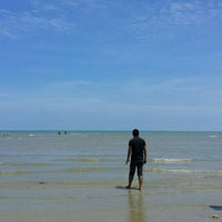 Photo taken at Port Dickson Beach by Athirah S. on 7/24/2016