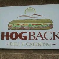 Photo taken at Hogback Deli by Jane E. on 10/7/2012