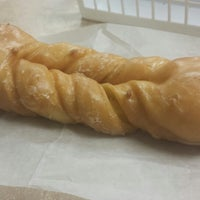 Photo taken at Ralph's Donuts by Jane E. on 10/1/2014