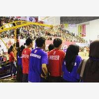 Photo taken at GOR Sang Bumi Ruwa Jurai (Saburai) by Velia J. on 9/5/2015