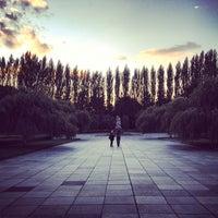 Photo taken at Treptower Park by avtoportret on 9/19/2012