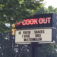 Photo taken at Cook Out by Felicia E. on 8/5/2014