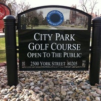 Photo taken at City Park Golf Course by Holly B. on 3/18/2012