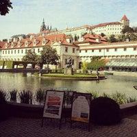 Photo taken at Wallenstein Garden by Ivan K. on 9/14/2012