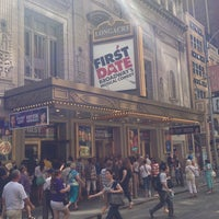 Photo taken at Longacre Theatre by Laurent D. on 7/21/2013