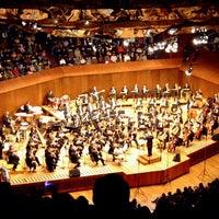 Photo taken at Sala Nezahualcóyotl, Música UNAM by Daniel D. on 1/20/2013