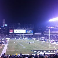 Photo taken at Lincoln Financial Field by Melissa B. on 11/27/2012