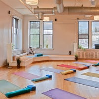Photo taken at YogaWorks Westchester by YogaWorks on 6/3/2014