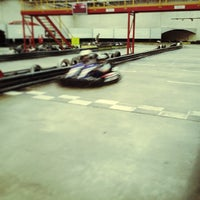 Photo taken at Kart World Belmont by Brad H. on 5/18/2014