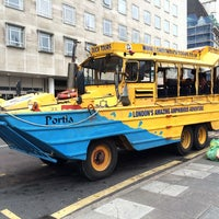 Photo taken at London Duck Tours by Victoire R. on 9/27/2014