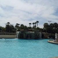 Photo taken at Pavilion Pool Bar by Luis G. on 3/9/2013