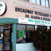 Photo taken at Broadway Veterinary Care by Yext Y. on 6/14/2016
