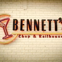 Photo taken at Bennett's Chop and Railhouse by Yext Y. on 5/13/2016